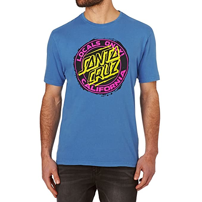 Camiseta Santa Cruz – Locals Only Vintage azul talla: L (Large)
