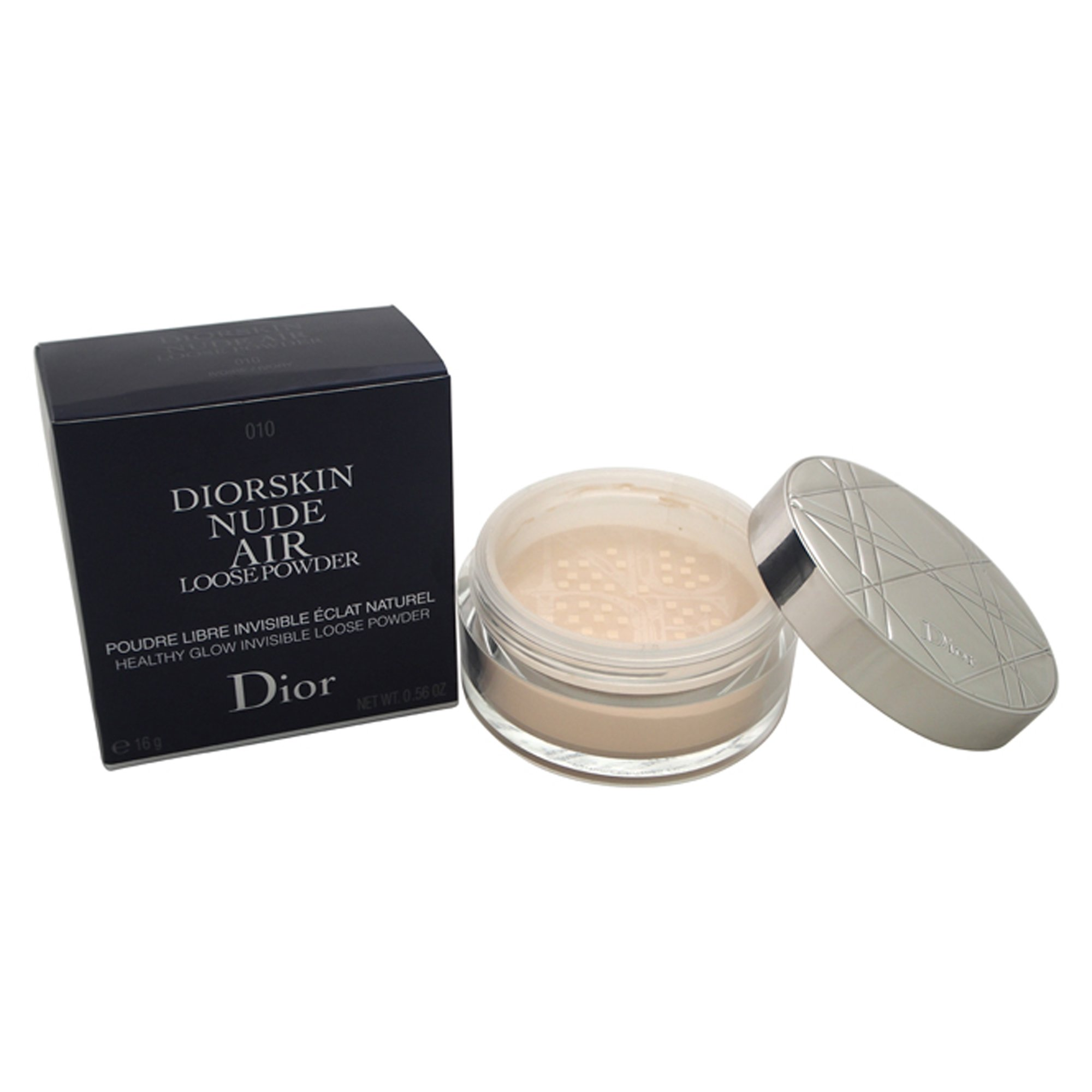 Christian Dior Diorskin Nude Air Loose Powder for Women, 010 Ivory, 0.54 Ounce