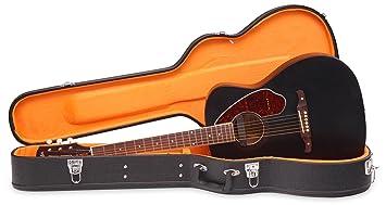 Fender Tim Armstrong Hellcat Deluxe Limited Negro Guitarra Eléctrica y Acústica W/case