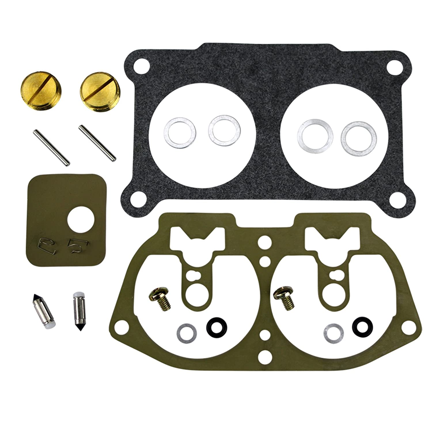 Yamaha Outboard V4 V6 Carb Carburetor Rebuild Kit Many 115 130 150 175 200 225 HP Replaces//Compatible With Yamaha Part Number 6E5-W0093-06 /& Sierra Part Number 18-7002