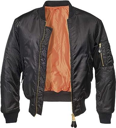 Brandit MA1 - Chaqueta de aviador para hombre: Amazon.es: Ropa y ...
