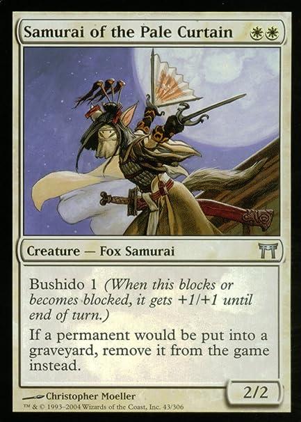 Amazon.com: Magic: The Gathering – Samurai de la cortina de ...