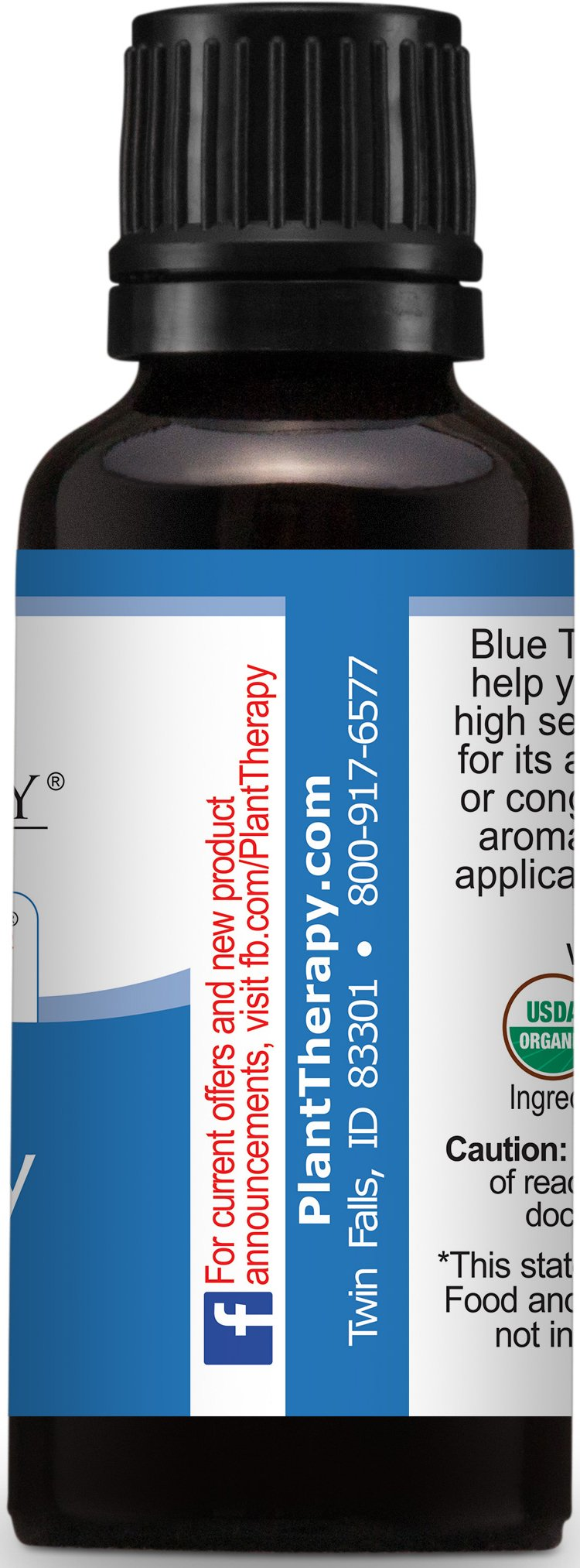 Plant Therapy USDA Certified Organic Blue Tansy Essential Oil. 100% Pure, Undiluted, Therapeutic Grade. 30 ml (1 oz). by Plant Therapy (Image #4)