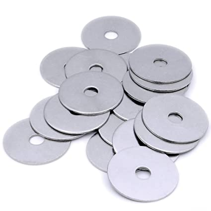 M8 x 25mm DIAMETER A2 STAINLESS STEEL PENNY REPAIR LARGE WASHER PACK OF 10