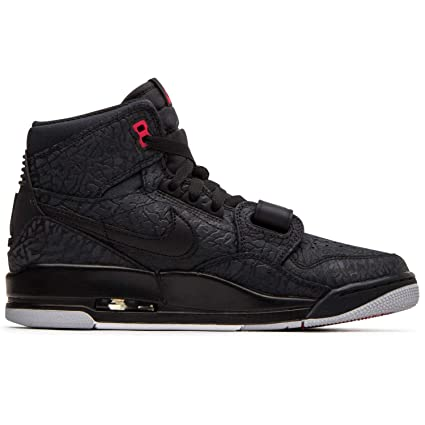 fa9aa23409231 Amazon.com: Jordan Nike Men's Air Legacy Elephant Print-Black/Red ...