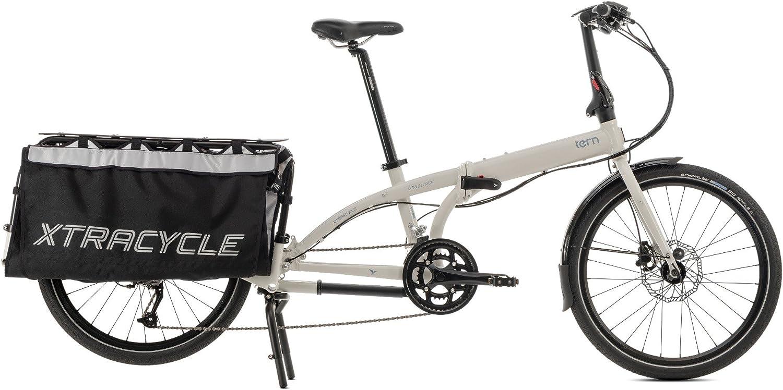Tern Cargo Node - Bicicletas plegables, color negro, tamaño ...