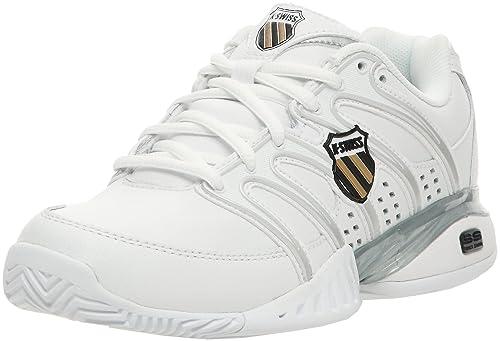 K-Swiss APPROACH II Approach II-W - Zapatillas de tenis para mujer, color blanco, talla 37