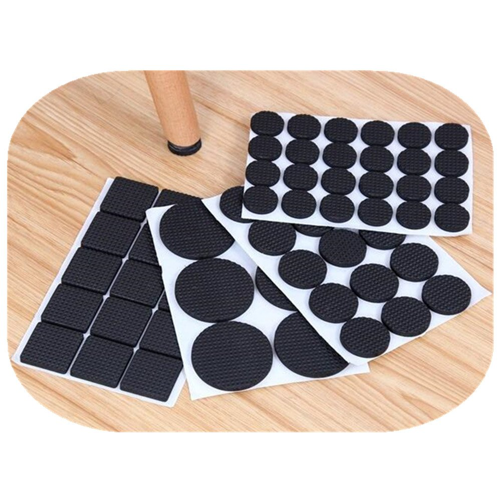 60 PCS Self Stick Furniture Round Felt Pads for Hard Surfaces Protect your Hard Floors from Furniture Scratches