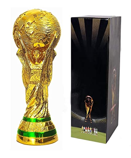 Amazon Com Tankership 2018 World Cup Trophy Replica Soccer Fans