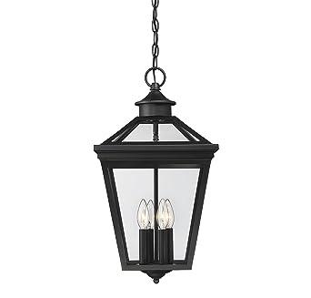 Savoy house ellijay 12 steel hanging lantern in black 5 145 bk savoy house ellijay 12quot steel hanging lantern in black aloadofball Image collections