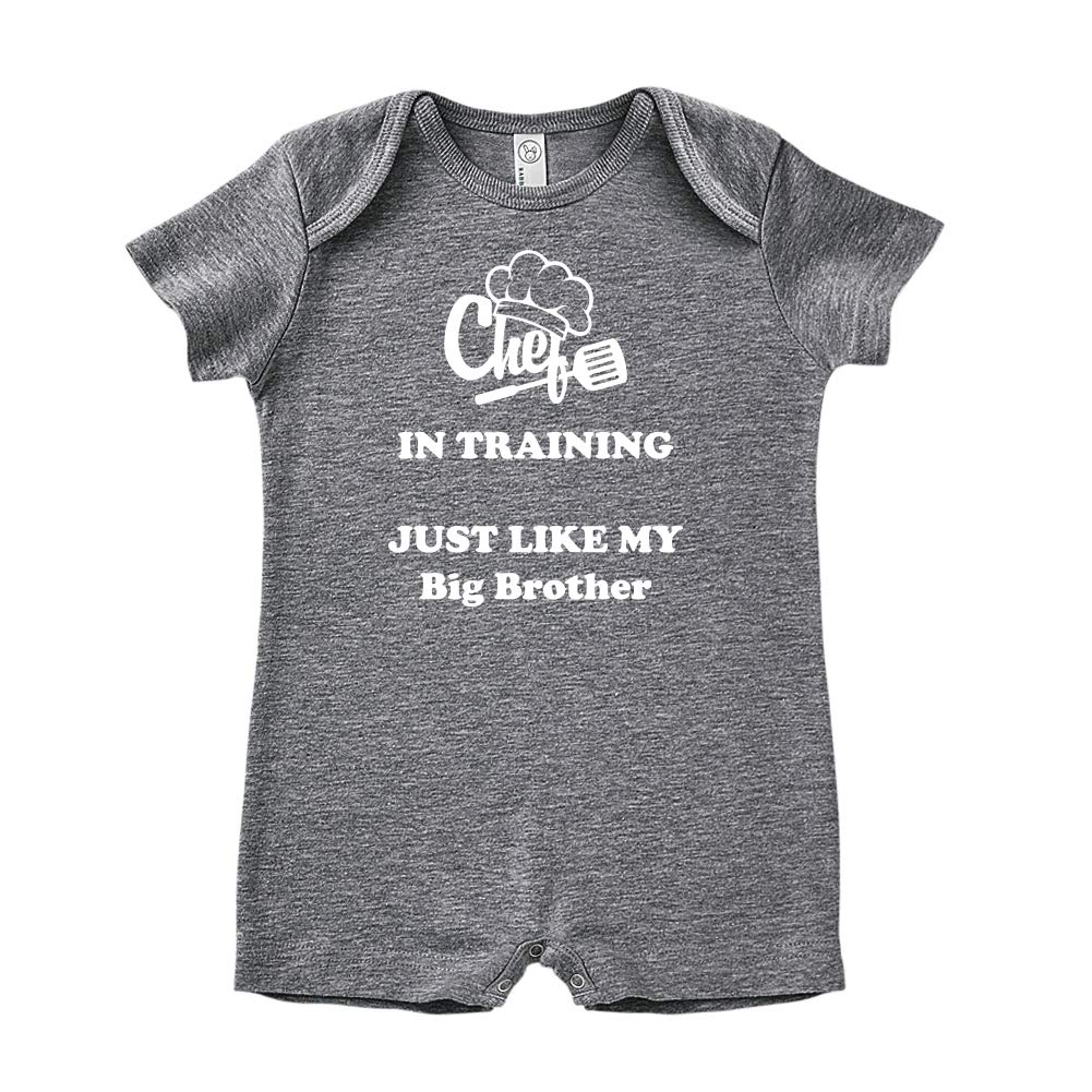 Chef in Training Just Like My Big Brother Baby Romper