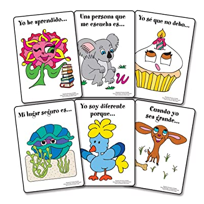 Thoughts and Feelings: A Sentence Completion Card Game (Spanish Language Version): Toys & Games
