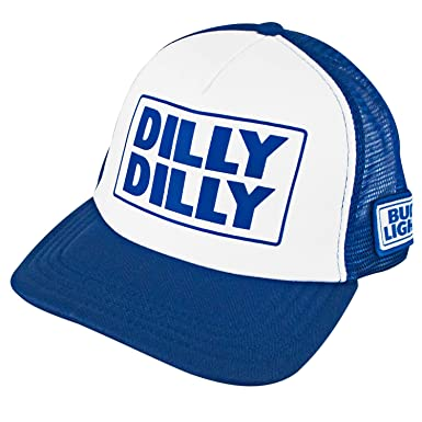 af2f3439457 Bud Light Snapback Dilly Dilly Trucker Hat  Amazon.co.uk  Clothing