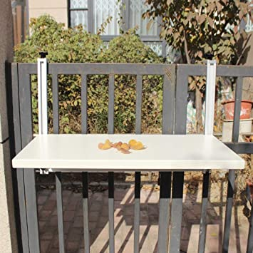 Amazon Com Ailjcz Ailj Hanging Table Balcony Railing Hanging Table