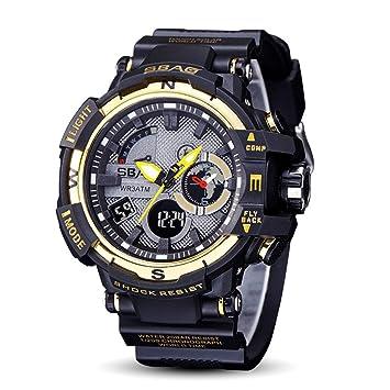 GONGYUAN Relojes Digitales para Hombre De Los Deportes - Deporte Impermeable Al Aire Libre con La