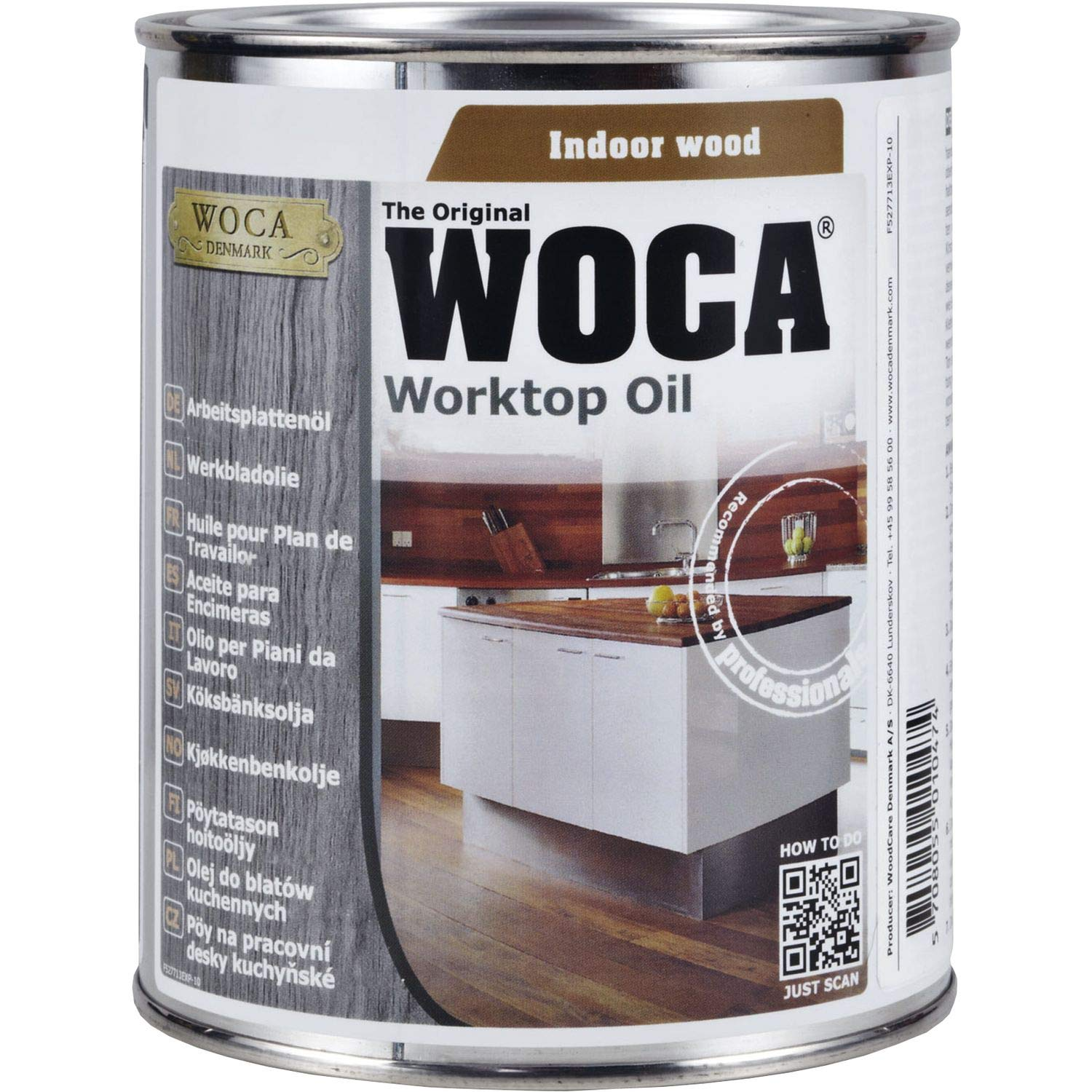 Woca, top oil, 0.75 L, natural, 527713AA