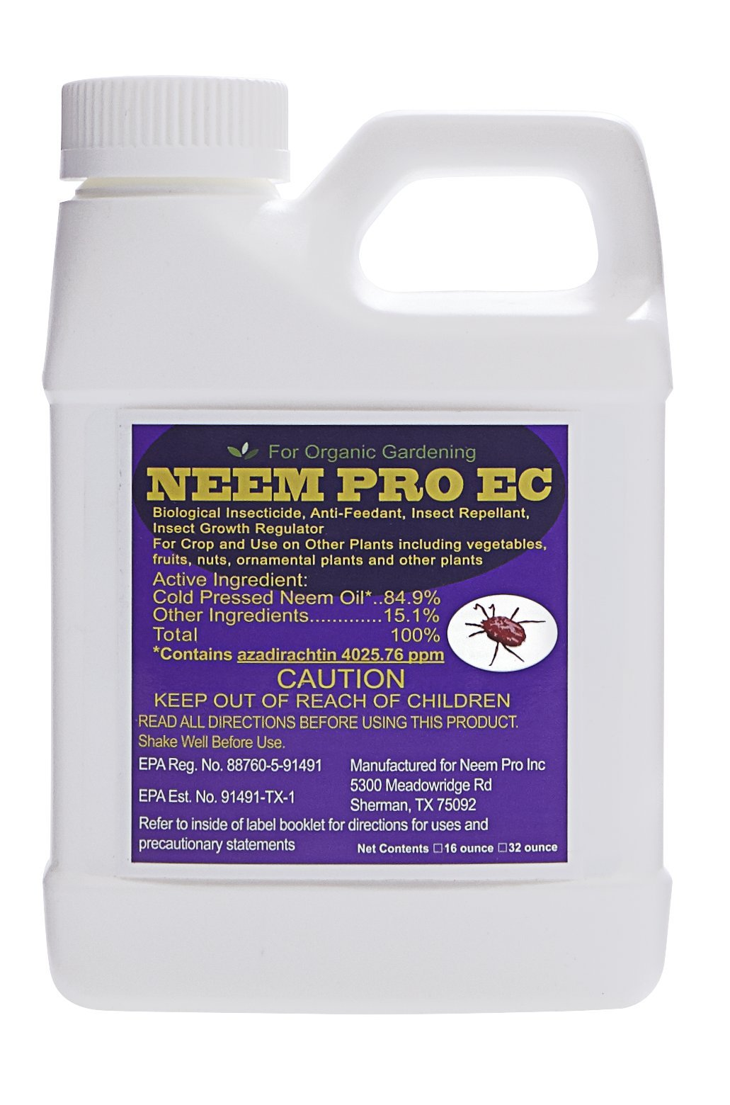 Neem Pro EC 32 ounce bottle