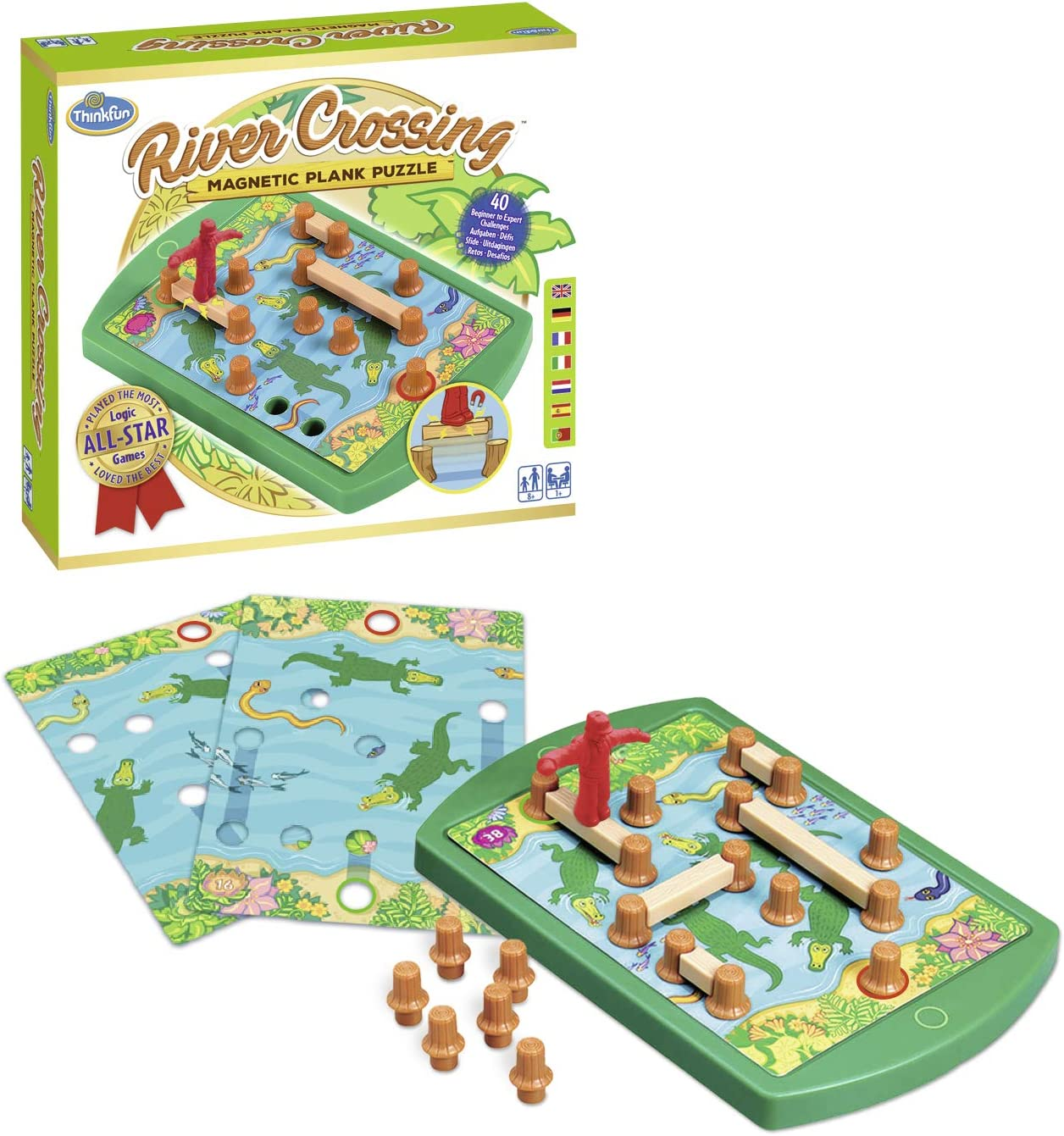 Ravensburger 76349 ThinkFun River Crossing: River Crossing® ThinkFun: Amazon.es: Juguetes y juegos