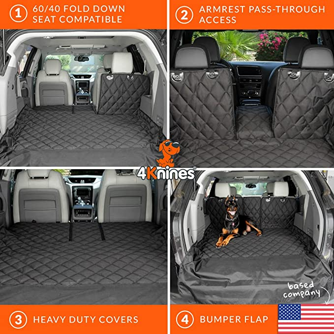 Amazon SUV Cargo Liner For Fold Down Seats