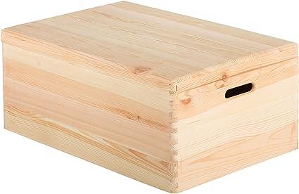 ASTIGARRAGA KIT LINE Caja de Madera con Tapa 60x40x23: Amazon.es ...