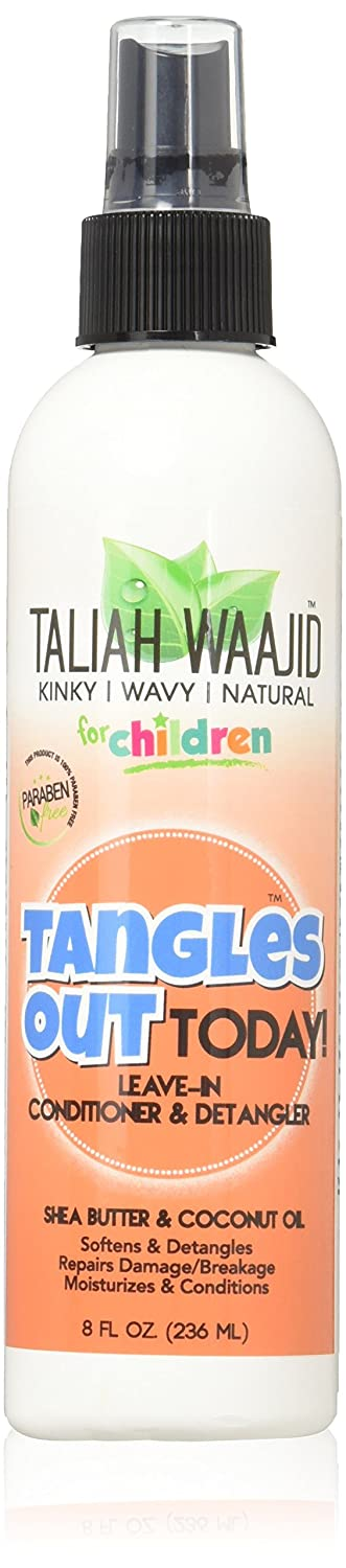 Taliah Waajid for Children Tangles Out Today Leave-in Conditioner Detangler, 8 Oz (BE0210)