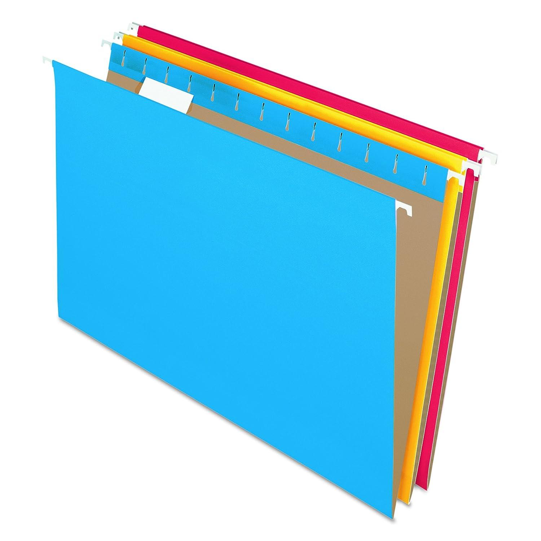 Pendaflex Essentials Hanging Folders, Legal Size, Standard Green, 25 per Box (81622) Esselte Corporation