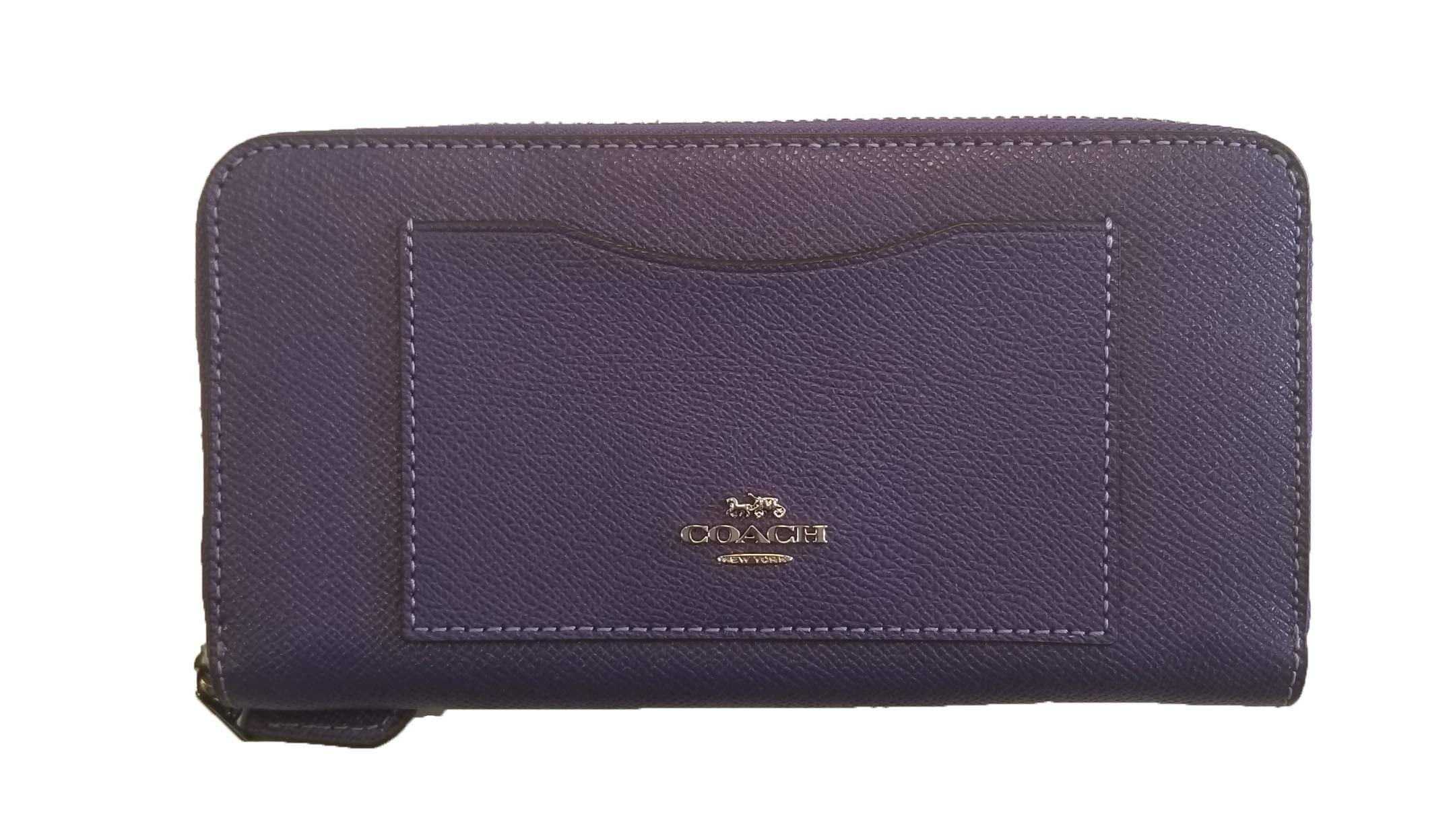 Coach Women's Wallets F54007 (Violet (Silver-Tone))