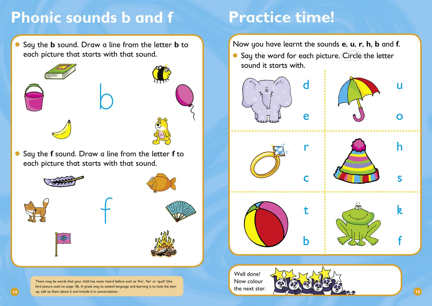 First Phonics Ages 3 4 Collins Easy Learning Preschool Amazon