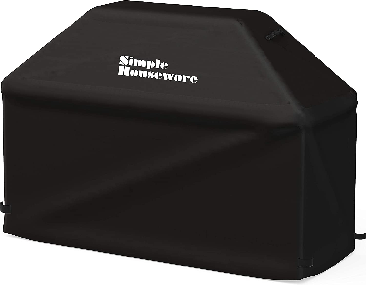 Simple Houseware 64-inch Waterproof Heavy Duty Gas BBQ Grill Cover, Weather-Resistant Polyester