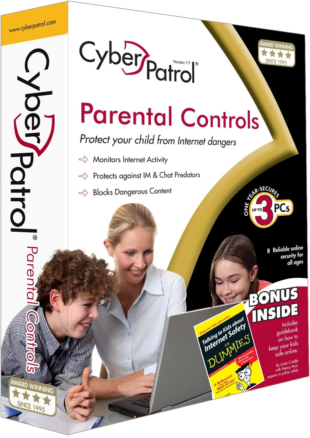 CyberPatrol Parental Controls 7.7