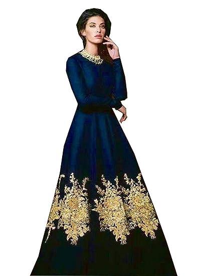 712368745b99 Royal Export Women s A-Line Knee-Long Dress (anushkabluedress Blue Free)  (anushkabluedress Blue Free)