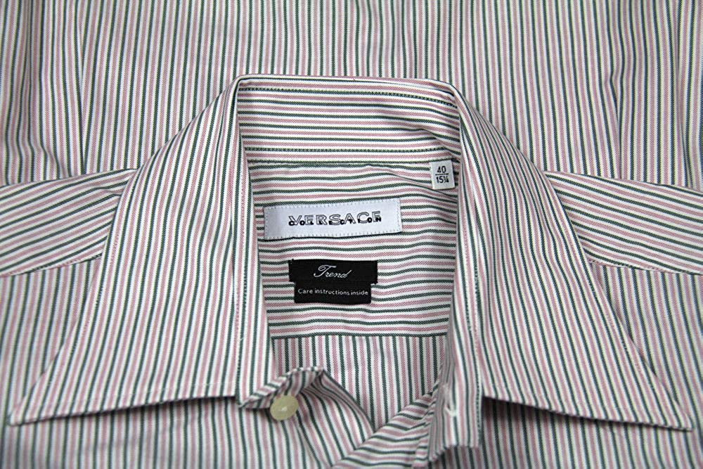 Collection Versace Trend FIT Mens Shirt Size 40//15 /¾