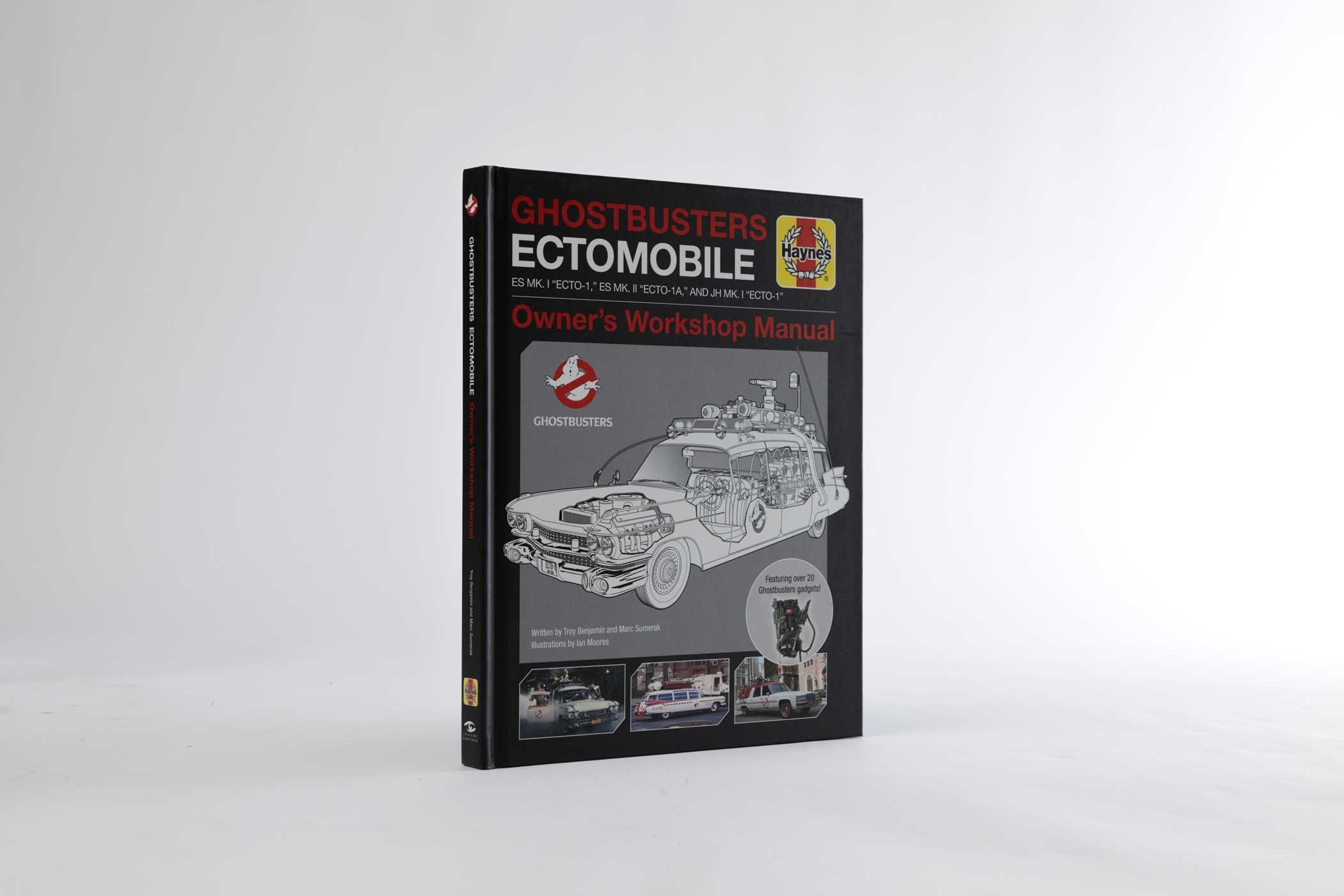 Ghostbusters ectomobile troy benjamin marc sumerak ian moores ghostbusters ectomobile troy benjamin marc sumerak ian moores 9781608875122 amazon books fandeluxe Image collections