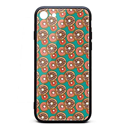 Amazon.com: for iPhone 7/8 Case Hippie Donuts Patterns Shock ...