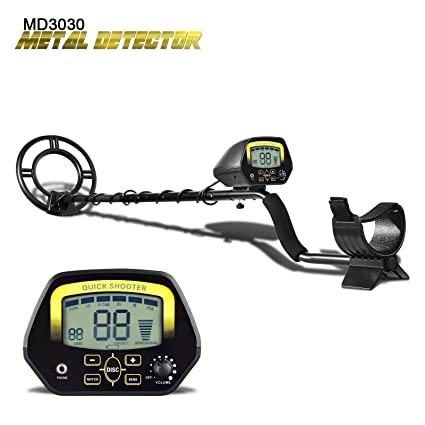 Amazon.com : SHUOGOU Metal Detector MD3030- Lightweight Professional Detectors Underground Treasure Hunter LCD Display Gold and Jewelry Hunting Under ...