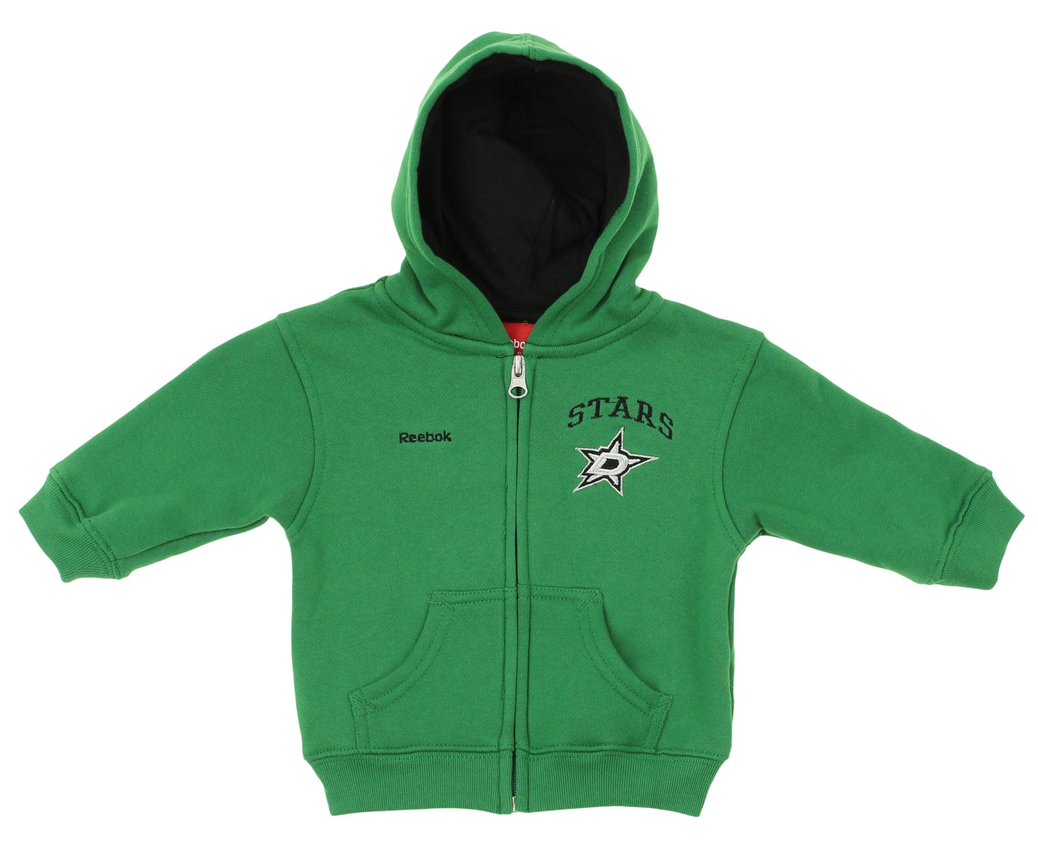 9a62b42dea435 Amazon.com: Reebok NHL Infant Toddler's Pledge Full Zip Hoodie, Team ...