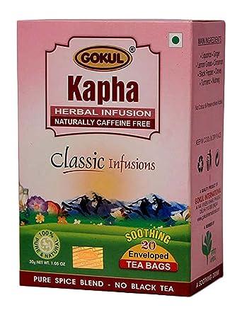 gokul Especias 100% Natural bolsas de té infusión de hierbas ...