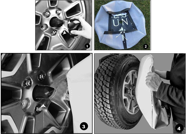 Tie Dye #2 Swirl Spare Tire Cover Wheel Cover ALL SIZES Jeep RV Camper JL Camera