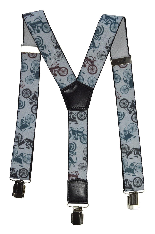 Bretelles entièrement réglable pour tous les âges, Moto motif