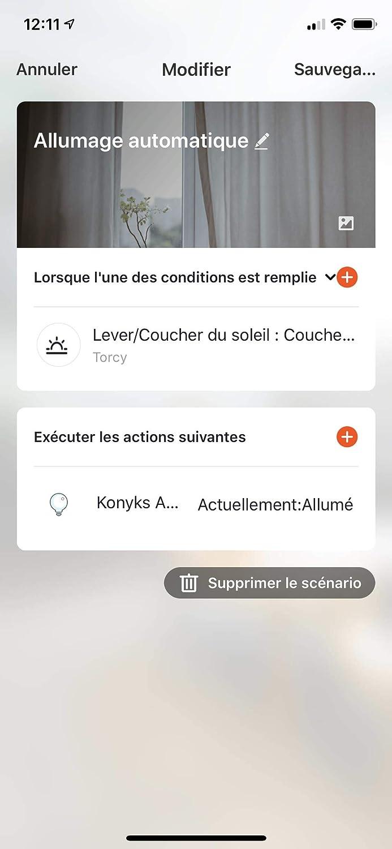 contador de consumo electrico mando vocal con Alexa y Google Home Konyks Priska 16 A automaciones faciles con las app enchufe Inteligente