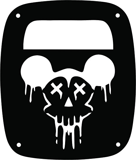 Amazon Com Jeeptails Mickey Mouse Zombie Skull