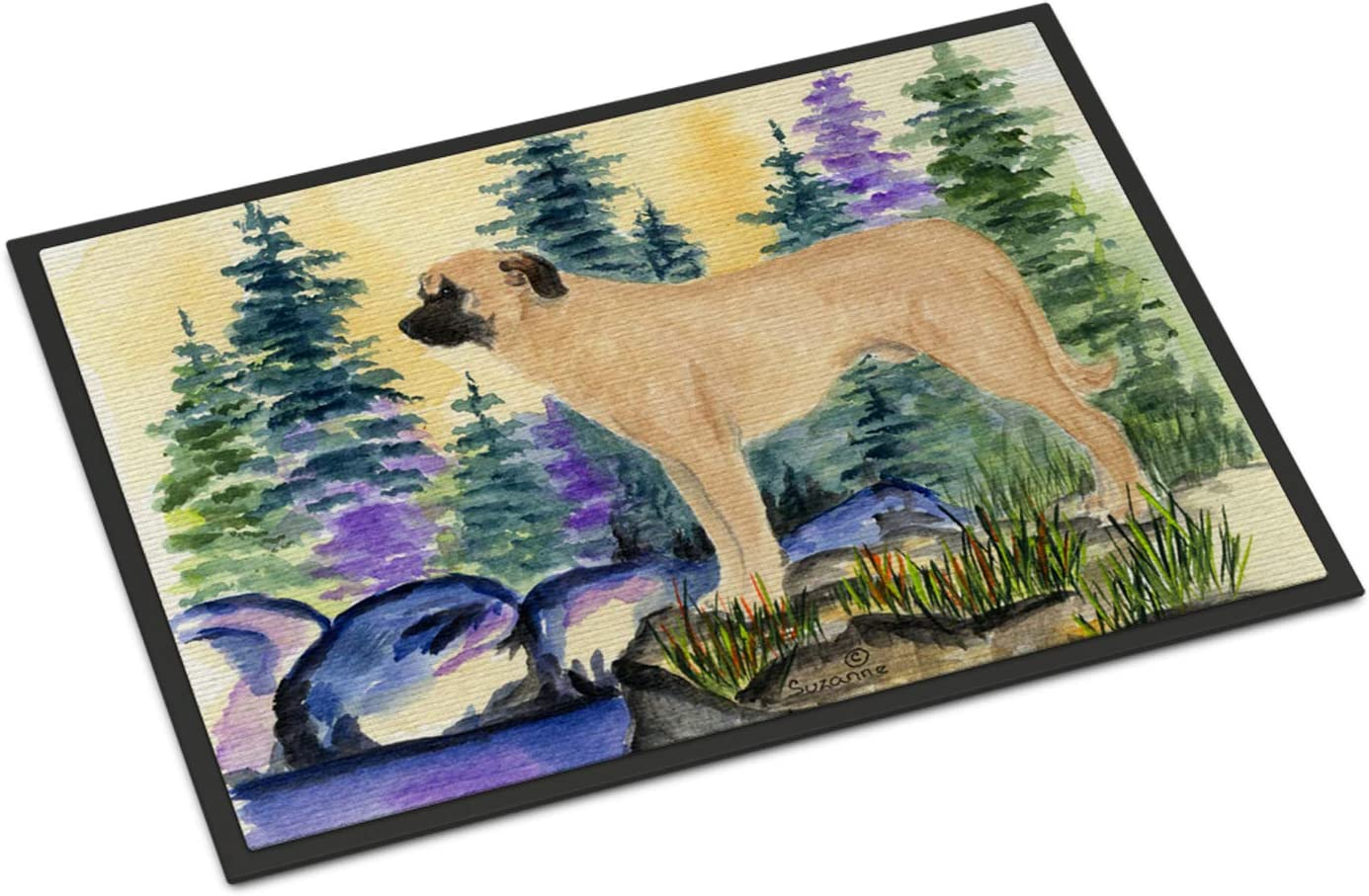 Caroline s Treasures SS8012MAT Anatolian Shepherd Indoor Outdoor Mat 18×27 Doormat, 18H X 27W, Multicolor