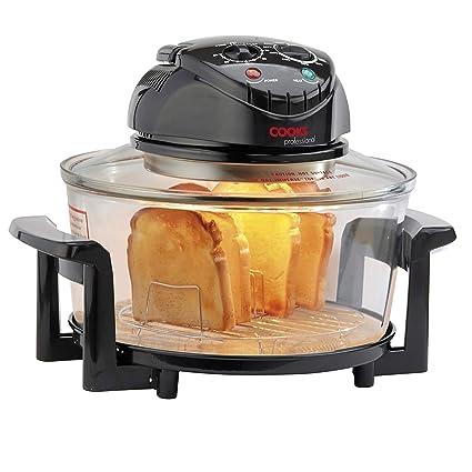 Cooks Professional Freidora eléctrica halógena con temporizador y accesorios, 1400W 17L de Cooks Professional: Amazon.es: Hogar