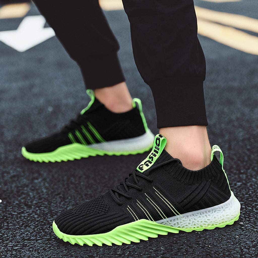 Darringls Zapatos de Hombre,Zapatillas para deported de Hombre Deporte Planas de Malla Transpirable Zapatos Casuales de Zapatos de Malla Aire Libre para Hombre 39-44 décimo: Amazon.es: Ropa y accesorios