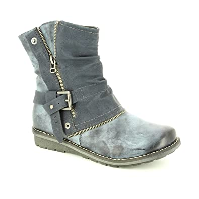 Rieker K0280Bottes Motardes Motardes Rieker K0280Bottes Fille BrxCoWde
