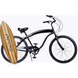 """Fito Modena Sport II Shimano 7-speed for Man, 26"""" Beach Cruiser Bike Bicycle, Crank fordward design, better quality than Micargi and Firmstrong bikes."""