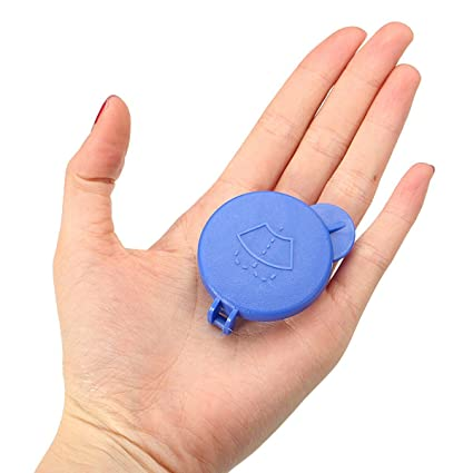 MONNY - Tapón para botella de limpiaparabrisas Ford para Fiesta MK6 2001 – 2008 azul 1488251
