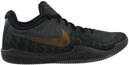 the latest 94284 e2261 Nike Men s Mamba Rage Basketball Shoes Multicolour (Black Metallic  Gold Anthracite Dark