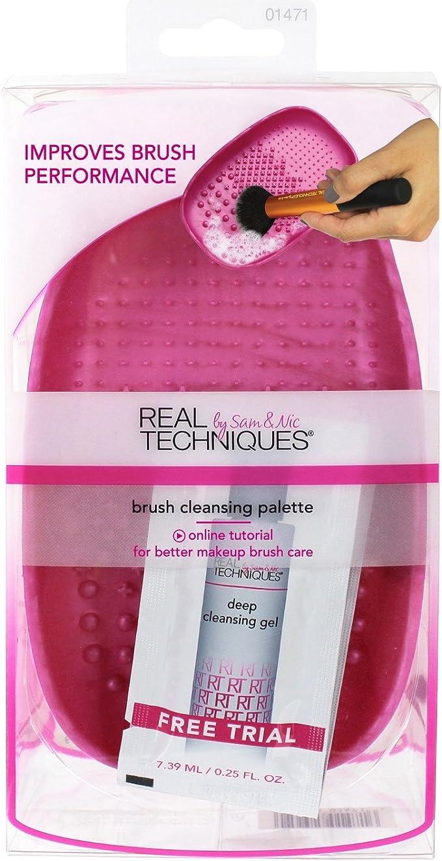 6 Pack) Real Techniques brush cleansing palette: Amazon.es: Belleza