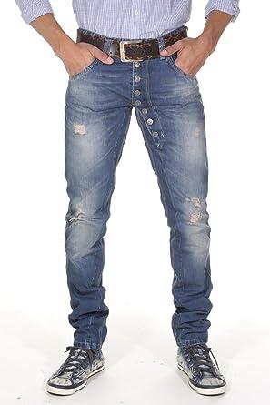 blau EX-PENT Jeans Herren